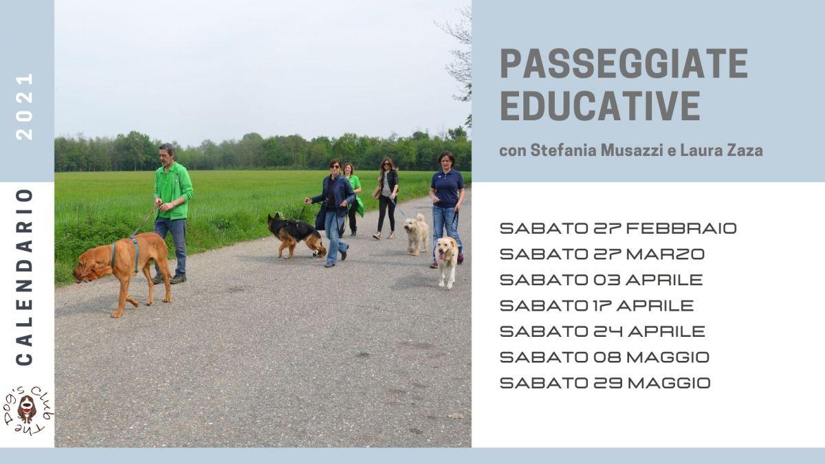 PASSEGGIATE EDUCATIVE DI GRUPPO